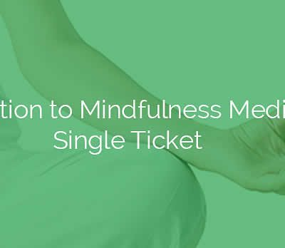 Introduction to Mindfulness Meditation Single