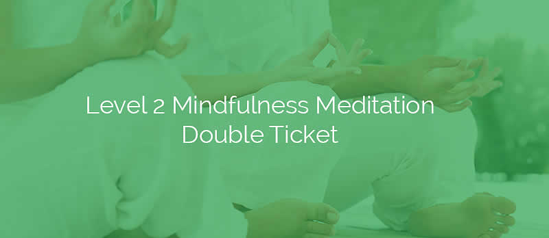 Level 2 Mindfulness Meditation Double Ticket
